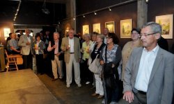 expo, paintings, FC Orania, Charly Reinertz, Fernand Thielen, Louis Bassing